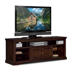 "Entertainment Furniture - Jenson 70"" TV Stand - Cherry"