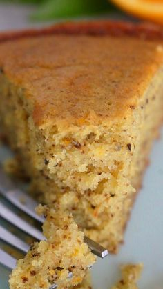 An (almost) easy food processor recipe for super soft orange walnut cake Coffee And Walnut Cake, Coffee Cake, Banana Walnut Cake, Baking Recipes, Cake Recipes, Dessert Recipes, Old Recipes, Orange Recipes, Sweet Recipes