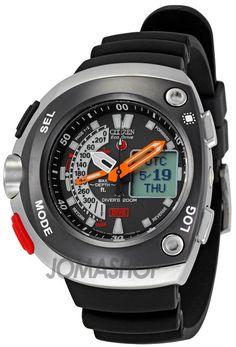 Citizen Eco-Drive Aqualand Mens Analog-Digital Watch. List price: $625