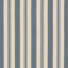 Arbaud Ticking - Vintage Blue - Stripes - Fabric - Products - Ralph Lauren Home - RalphLaurenHome.com