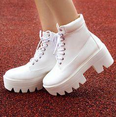 "Cute punk martin boots Coupon code ""cutekawaii"" for 10% off"