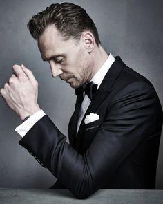 Tom Hiddleston by Gavin Bond - BAFTA 2017/ GQ UK