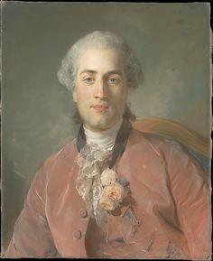 Portrait of Olivier Journu (1724–1764) Jean-Baptiste Perronneau (French, Paris 1715–1783 Amsterdam) Date: 1756 Medium: Pastel on blue-gray laid paper, laid down on canvas Dimensions: 22 7/8 x 18 1/2 in. (58.1 x 47 cm)