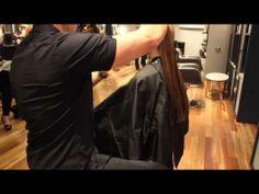 Long Layered cut - Model Paris Yves - Part 1/3 - YouTube