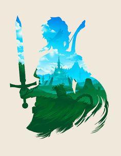 'The Legend Of Zelda: Breath Of The Wild' by Jeff Langevin