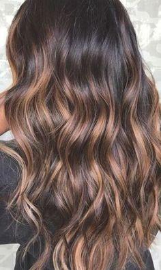 Brown Hair With Caramel Highlights, Hair Color Caramel, Brown Hair Balayage, Ash Blonde Hair, Hair Color Highlights, Hair Color Balayage, Balayage Caramel, Brown Hair With Highlights And Lowlights, Brunette Highlights
