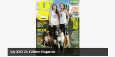 Our ideas and passion for animal rescue explained in Go Gilbert magazine interview!