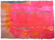 <p>Helen Frankenthaler. <em>Untitled,</em> 1991. Acrylic on paper, 64.14 x 88.9 cm (25¼ x 35 inches).
