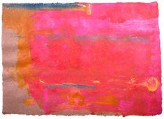 Helen Frankenthaler. Untitled, 1991. Acrylic on paper, 64.14 x 88.9 cm (25¼ x 35 inches).
