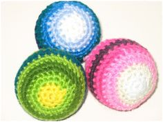 Baby Ball Beginners Project – Tutorial (Crochet) free pattern