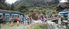 https://flic.kr/p/MTc6N9 | Trekkers caravan to Everest Base camp