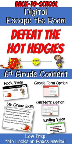 This engaging challenge will help with team building and also review major 6th grade math skills. Start with a hook video that will get your students excited and give them the back story to the challenge. (Link to this video is in the preview so you can l