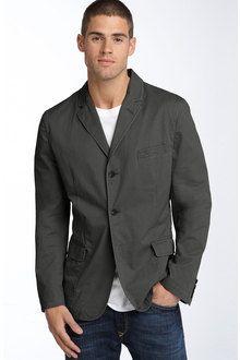 The cotton blazer!!