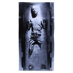 Star Wars Han Solo Carbonite Beach Towel