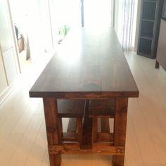 DIY Farmhouse Table U0026 Bench