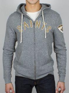 Nike New Orleans Saints Authentic Logo Hoodie Grey - Intl. Human ...