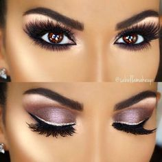 Amazing pinky eye makeup for brown eyes Inspirational ladies - . Amazing pinky eye makeup for brown eyes Inspirational ladiesMagical make-up tips for the perfect make-up - Halloween make-up ideas - . Eye Makeup Tips, Smokey Eye Makeup, Love Makeup, Beauty Makeup, Smoky Eye, Makeup Ideas, Amazing Makeup, Simple Makeup, No Make Up Make Up Look