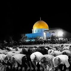 A very beautiful shot from the Al QASA Mosque yard - Yerushalim