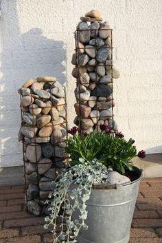 46 rock garden ideas landscaping for make your garden look beautiful 34 FieltroNet Diy Jardin, Garden Projects, Garden Ideas, Garden Tips, Dream Garden, Yard Art, Garden Paths, Backyard Landscaping, Backyard Ideas