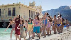 The Macaluso Sisters at Mondello Beach - Alle Terrazze - filming location Video Film, Cate Blanchett, Boys Who, Foto E Video, Cover Up, Cinema, Italy Location, Palermo Italy, Kids
