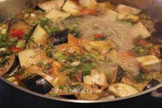 Αρακάς λαδερός με μελιτζάνες ⋆ Cook Eat Up! Meat, Chicken, Food, Essen, Meals, Yemek, Eten, Cubs