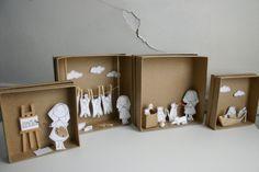 Los dioramas de Cara Carmina
