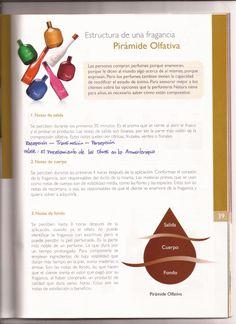 """""""Estructura de una Fragancia. Pirámide Olfativa."""" En: Manual de Consultoría Natura - 2012 (Natura Cosméticos Oficial: naturalatam)"""