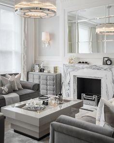 Formal living room dream! From. #bmdesign