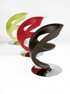 Cool chairs!  These would look perfect at the kids desks in their bedrooms