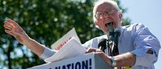 Democratic presidential hopeful and self-described socialist Bernie Sanders introduced a bill to raise the federal minimum wage to $15 per hour this week. Bernie Sanders Demands $15 Per Hour Minimum Wage, Pays His Own Interns $12 PER HOUR 7-25-2015 http://dailycaller.com/2015/07/25/bernie-sanders-demands-15-per-hour-minimum-wage-pays-his-own-interns-12-per-hour/#ixzz3gv8pgken
