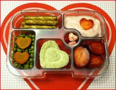 The Lucky Lunchbox/ Healthy heart @yumbox