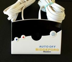 Biddeford Sealy Model TC12B0-D Electric Heating Blanket Controller 4 Prong 180 W #biddefordsealy