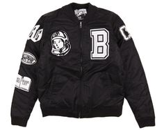 Billionaire Boys Club Captain Varsity Jacket - Black
