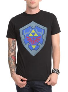 Nintendo The Legend Of Zelda Hylian Shield T-Shirt