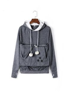 Cat Lovers Hoodies With Cuddle Pouch and Ears