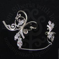Купить Слейв-браслет (К259) серебро 925 - якутские украшения, слейв-браслет, браслет