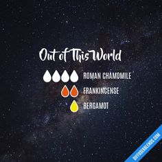 Out of This World - Essential Oil Diffuser Blend