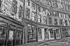 West Bow, Edinburgh, UK