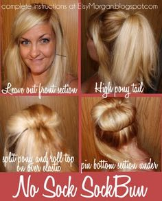 Cute easy hair tutorials