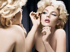 Scarlett Johansson: Dolce & Gabbana Makeup Spring/Summer 2010