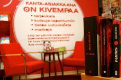 Suomalaisen kirjakaupan kanta-asiakkaana vain on kivempaa!