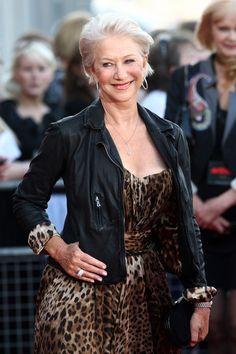 Helen Mirren Clothes