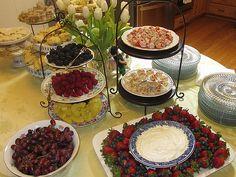 finger foods for bridal shower | Bridal Shower Tea Party
