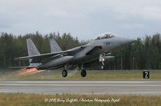 LAUNCH: RED FLAG-ALASKA Mitsubishu F-15J Eagle s/n 92-8094 203rf Tactical Fighter Squadron (JASDF) Chitose AB, Japan