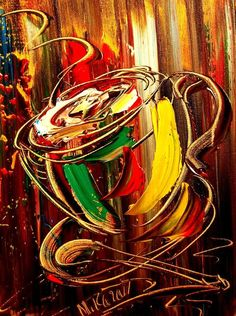 Coffee Painting  -