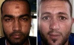 Mohamad Usman (left) and Adel Haddadi (right) have today been extradited from Austria to France. A source close to the investigation said Haddadi 'was meant to take part in the Paris killings'
