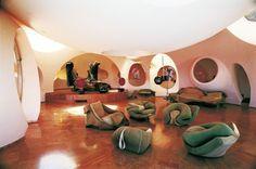 inside Pierre Cardin's Bubble House