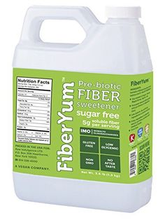 Fiberyum IMO Syrup (Isomalto-oligosaccharide) All Natural Low Calorie Sugar Free Fiber Syrup & Sweetener - Corn Free, Low Glycemic Index, Non-Gmo, Gluten Free, Vegan
