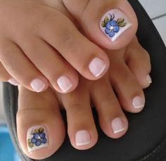 23 that will make you bright summer nails designs glitter fun 015 Toenail Art Designs, Pedicure Designs, Pedicure Nail Art, Toe Nail Art, Pretty Toe Nails, Cute Toe Nails, Pretty Pedicures, Love Nails, Orange Nail Designs