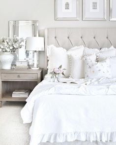 design - White Bedrooms